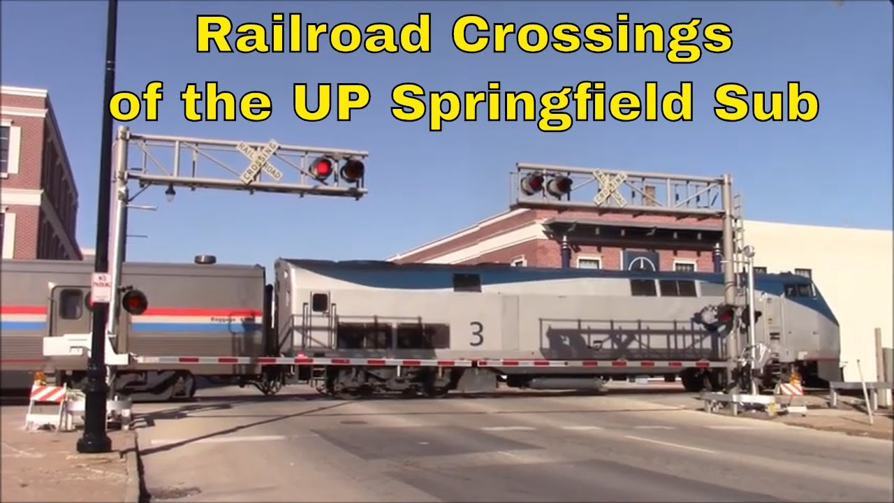 Railroad Crossings of the UP Springfield Sub