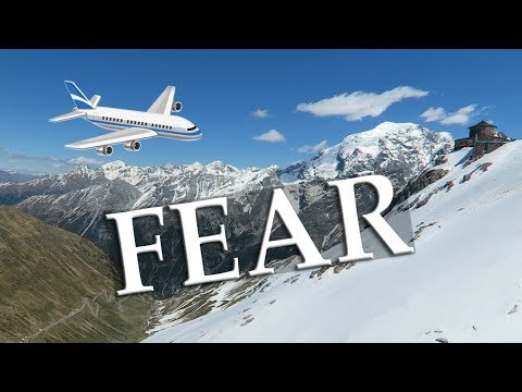 Dealing with the Fear of Flying - Filmed at 3000 Meters!!