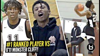 #1 Ranked Player vs 6'11 MONSTER = SUPER EXCITING Match-Up!! Jonathan Kuminga vs Cliff  Omoruyi