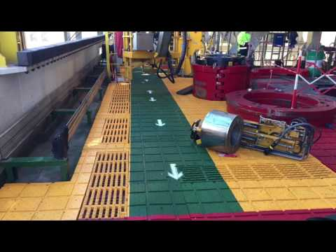 AMS Drillfloor Traction Matting