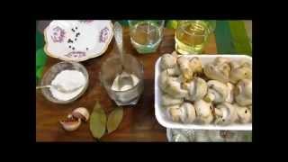 Как сделать ОЧЕНЬ БЫСТРЫЕ маринованные грибочки.  Рецепт для закуски. // Олег Карп