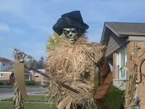 halloween 2012 the harvester scarecrow prop - Halloween Scare Crow
