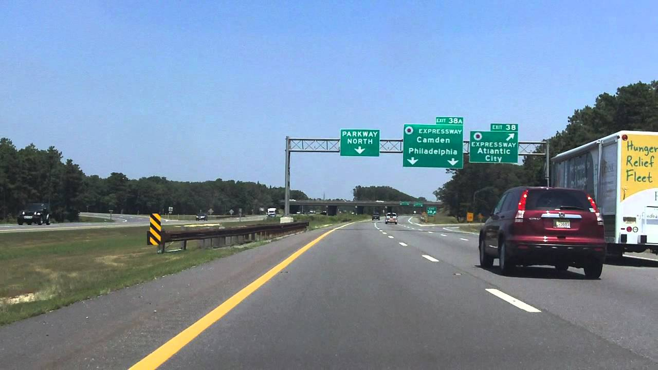 Garden State Parkway Exits 36 To 41 Northbound Youtube