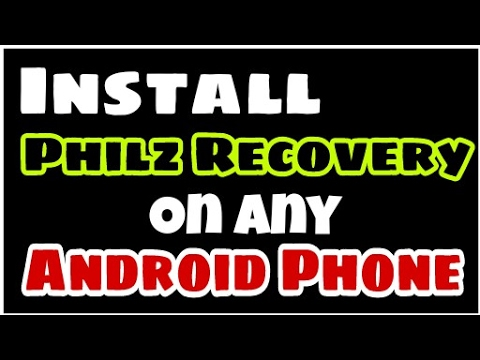 How to install Philz Recovery mode in any Android Phone