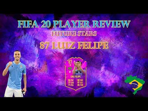 FIFA 20 PLAYER REVIEW - FUTURE STARS LUIZ FELIPE (FUTURE STARS FELIPE Ultimate Team)