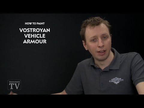 WHTV Tip of the Day - Vostroyan Vehicle Armour.