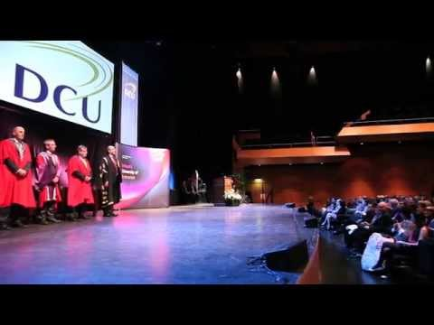 DCU Academic Scholarships Awards Evening 2013/14