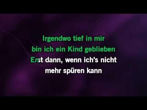 Karaoke Ich wollte nie erwachsen sein (Nessajas Lied - Live) - Peter Maffay *
