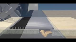 K3D Giunto di Dilatazione a pavimento per edifici con Isolamento Sismico