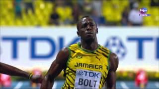 Final 100m masculino Atletismo Cto del Mundo Moscú 2013