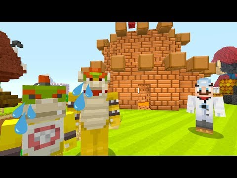 CHEF MARIO QUITS... [NEW SERIES?] - Nintendo Fun House - (Minecraft Switch) [228]