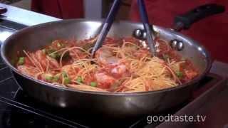 Goodtaste.tv - Lidia Bastianich's Easy Tomato Basil Capellini