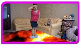 Salvam fetita!!! The floor is lava!