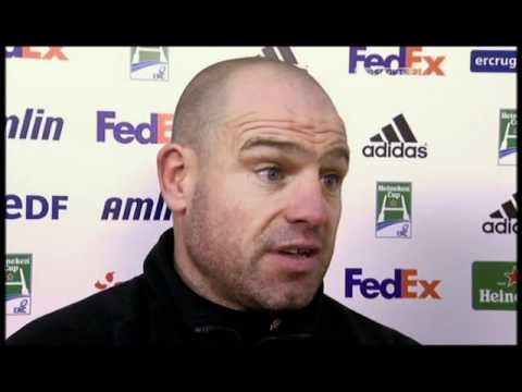Richard Cockerill interview after Leicester v Perpignan