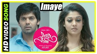 raja rani tamil movie climax scene nayanthara and arya unite atlee end credits