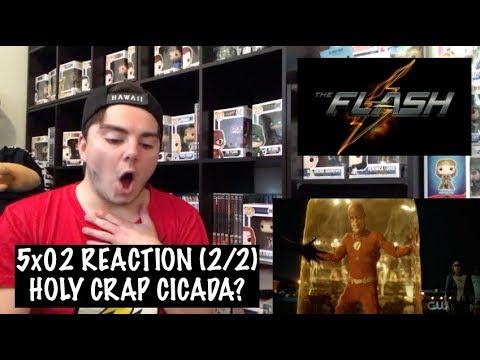 THE FLASH - 5x02 'BLOCKED' REACTION (2/2)