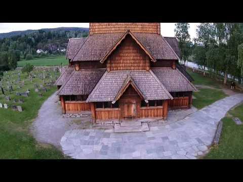 Heddal stavkirke på Notodden in Norway