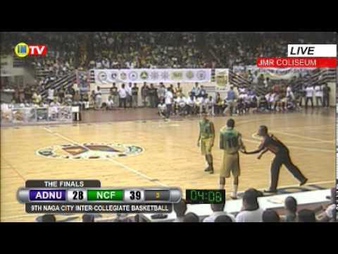 ADNU vs NCF Championship Game 2 - 9th Naga City Inter-Collegiate Basketball Tournament