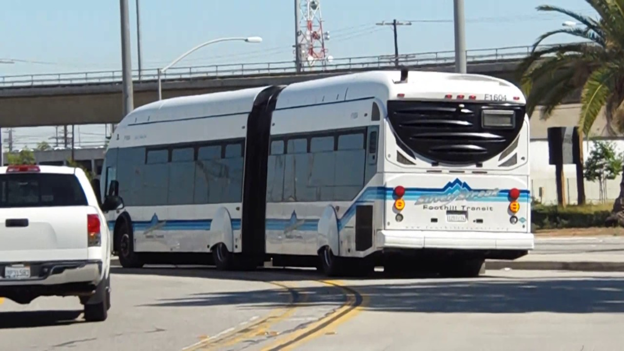 ARTICULATED BUSES BUS VIDEO COMPILATION