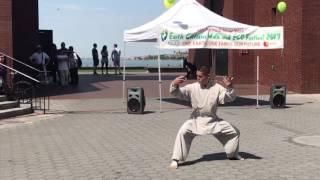 Hong Ik Martial Arts Grand master Yoo's Kigong Demo in Manhattan