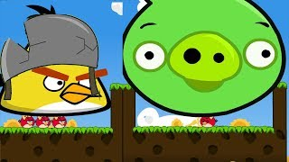Angry Birds Cannon 3 - RESCUE STELLA BIRDS AFTER BLASTING HUGE PIGS!