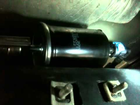 lincoln navigator fuel filter replacement for 05-06 - youtube  youtube