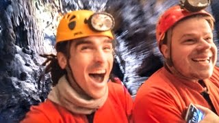 INCREDIBLE CAVE TRAIN RIDE!