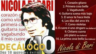 Nicola di Bari - Sus 10 mayores éxitos (Colección Decálogo)