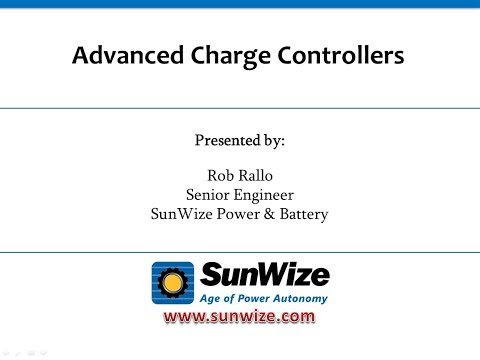 Advanced Charge Controller Topics for Off Grid Applications