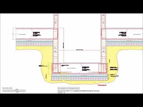 Elevator Shaft Pit Foundation Reinforcement Detail - YouTube