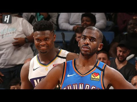 Oklahoma City Thunder vs New Orleans Pelicans – Full Highlights | Feb 13, 2020 | 2019-20 NBA Season