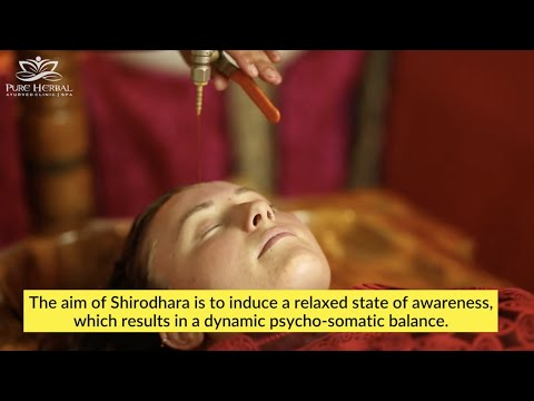 Shirodhara Massage | Third Eye Drip Treatment | Ayurveda Melbourne | Pure Herbal Ayurved Clinic