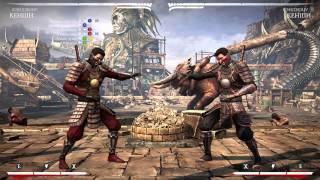 Mortal Kombat X - Кеньши Кендзюцу Комбо Урок