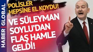 Sedat Peker'in Videosu Sonrası Süleyman Soylu'dan Flaş Hamle! Hepsine El Konuldu!