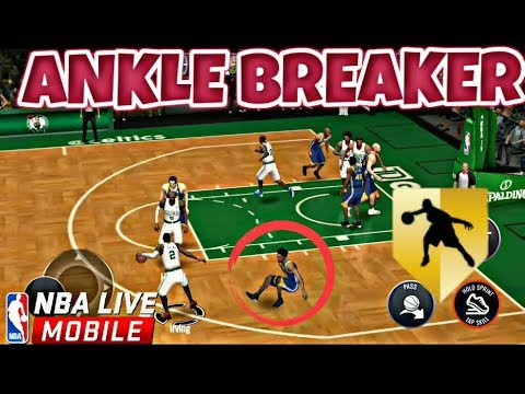 BEST ANKLE BREAKERS IN NBA LIVE MOBILE 17-18!