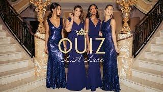 LA LUXE | QUIZ Occasionwear