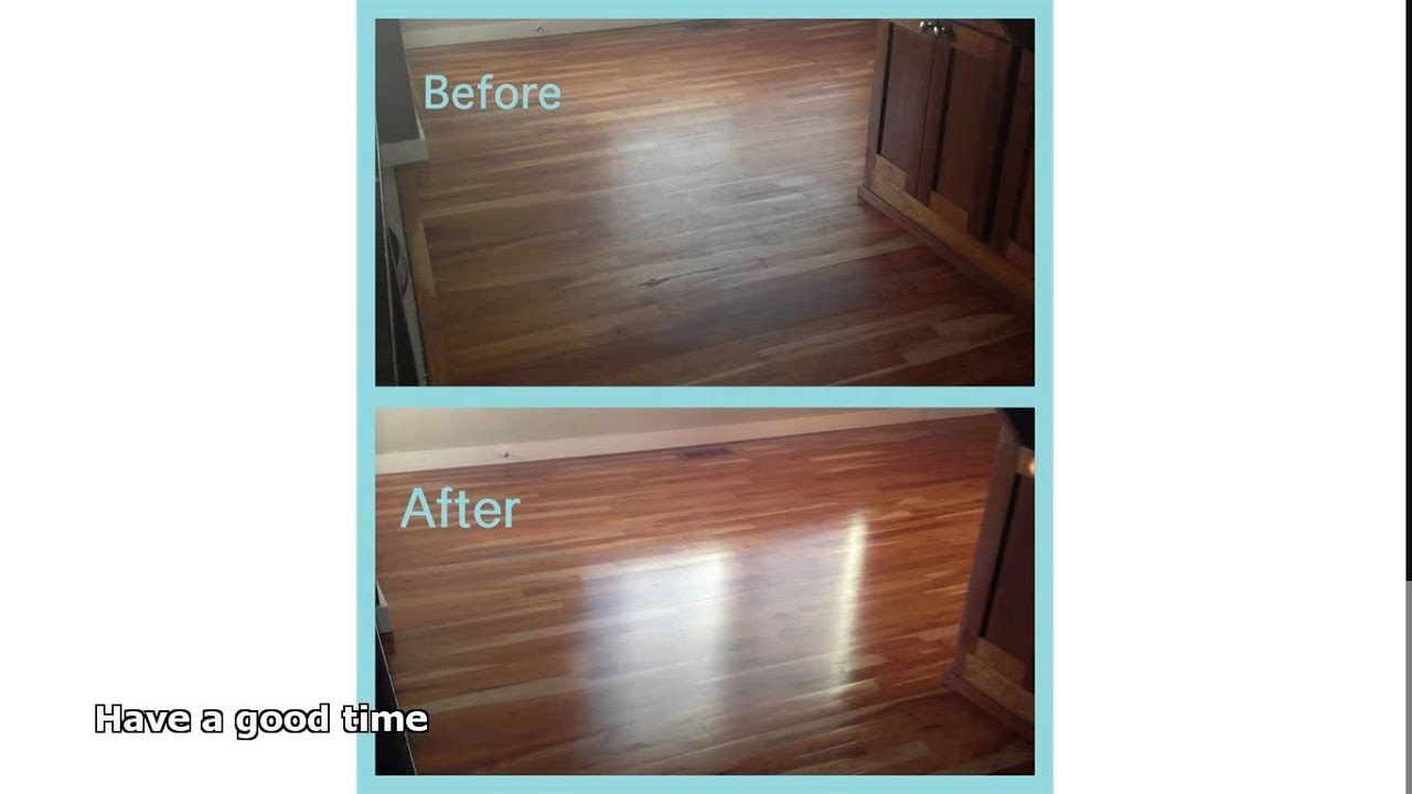 hardwood floor polish - Hardwood Floor Polish - YouTube