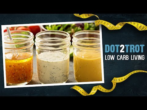 Low Carb Salad Dressings