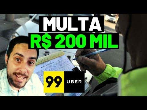 Acredite: MULTA de R$ 200 MIL para Uber e 99 Pop