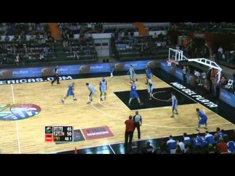 Uruguay Vs. Puerto Rico / 2011 FIBA Americas Championship Round 1