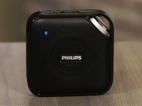 Philips BT2500: Budget Bluetooth speaker in a slim package