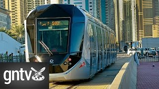 The Dubai Tram rolls out to the public