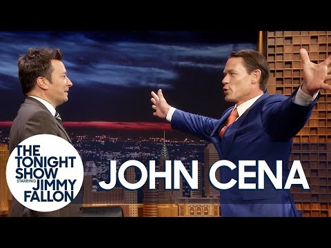 John Cena Demonstrates His Sixth Move of Doom on Jimmy Fallon