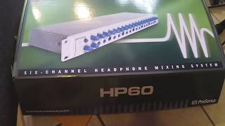 HP60 Presonus 6 Canales