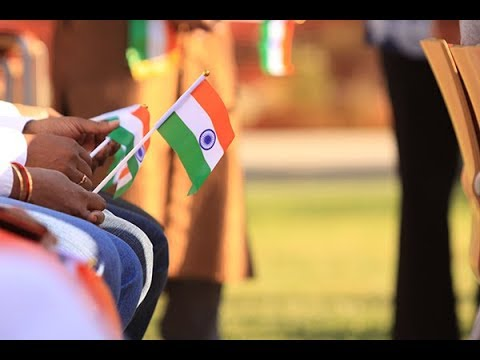 India's 70th Independence Day Flag Raising Ceremony. 2017