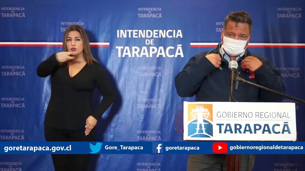 Punto de prensa 30 de julio de 2020 - Gobierno Regional de Tarapacá
