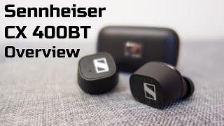 Sennheiser CX 400BT overview: Stylish True Wireless Earbuds | TotallydubbedHD