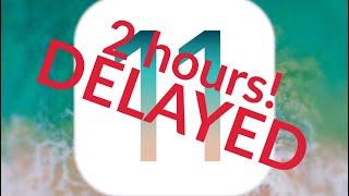 Slight Delay - iOS 11 Livestream: 20:00/12:00