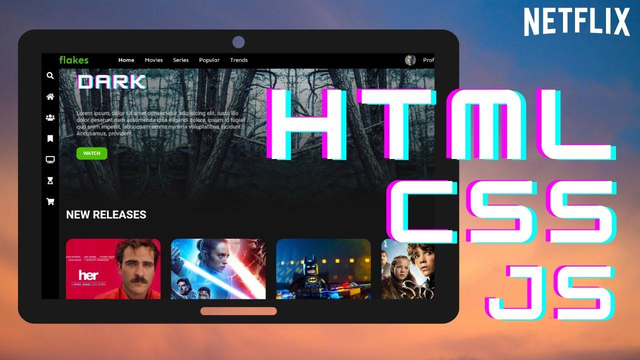 Create a Movie Website in 90 min. HTML & CSS & Javascript