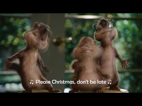 Alvin and The Chipmunks - The Christmas Song (Lyrics Video 1080p)